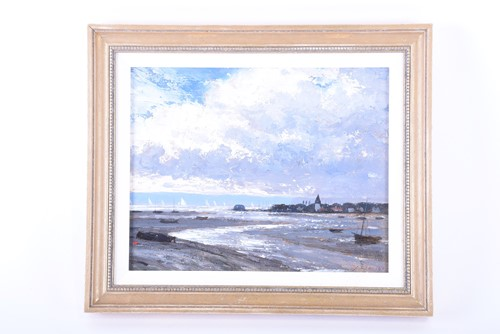 Lot 22-John Foulger (1942-2007) British 'Bosham, Sussex',...