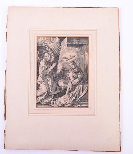 Lot 46-Albrecht Durer (1471 - 1528), The Annunciation...