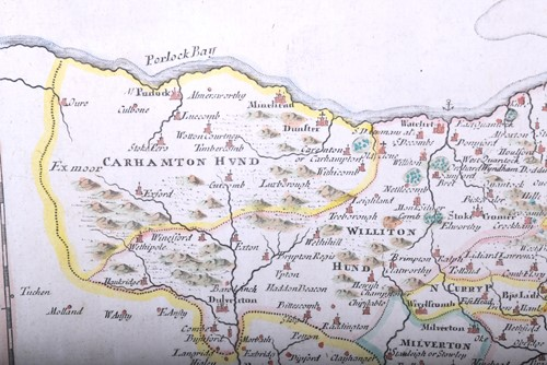 Lot 42-Robert Morden 'Somersetshire', late 17th century, ...