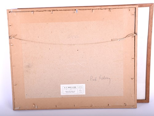 Lot 24-Paul Redway (20th century), ' Looking from Castle ...