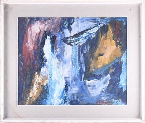 Lot 33-Tresoldi (Italian, 20th century), abstract,...