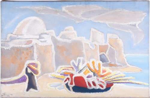 Lot 9-Jean Simian (Algerian, 1910 - 1991), An...