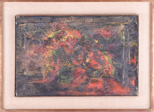 Lot 25-M. Solomon (French , 20th century), Abstract,...