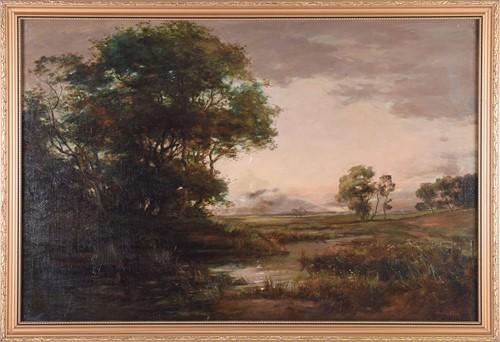 Lot 68-John Hamilton Glass (1820 - 1885), 'Morning on...