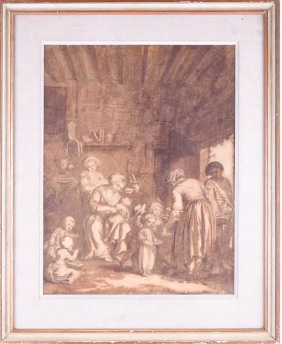 Lot 34-Philipp Louis Parizeau (1740 - 1801),...