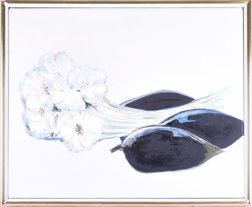 Lot 49-Kit Barker (1916-1988) British. 'Garlic and...