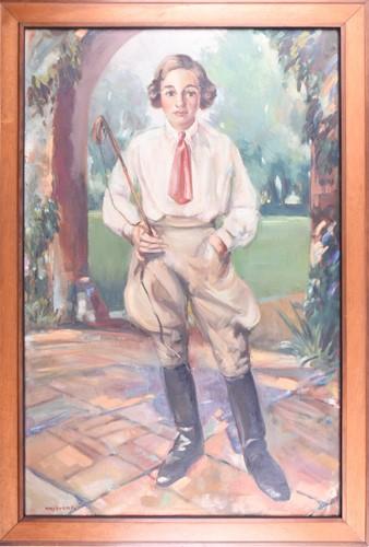 Lot 13-Rudolf Haybrook (1898-1965) British, a full...