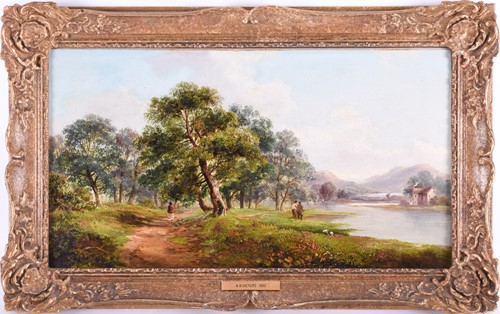 Lot 40 - Alfred Henry Vickers (1853-1907) British A...