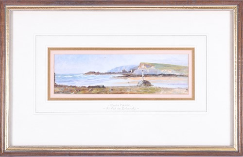 Lot 61-Alfred De Breanski Jnr (1877-1955) British...