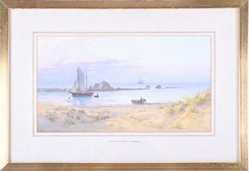 Lot 64-Fritz B. Althaus (1863-1962) British Low Tide,...