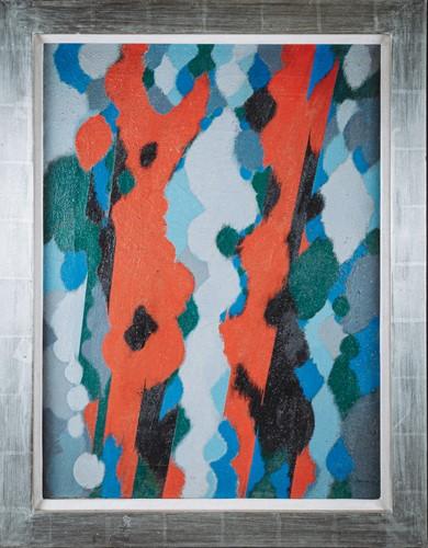 Lot 49 - William Gear, (1915-1997) British, 'Red Form',...