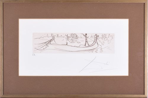 Lot 67 - Attributed to Salvador Dali (1904-1989)...