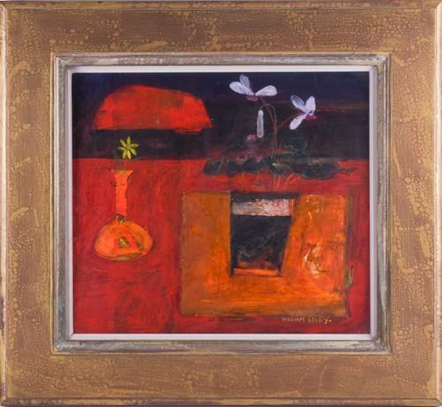 Lot 12 - William Selby (born 1933) British, a still...
