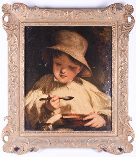 Lot 6 - Early 20th century English school, a portrait...