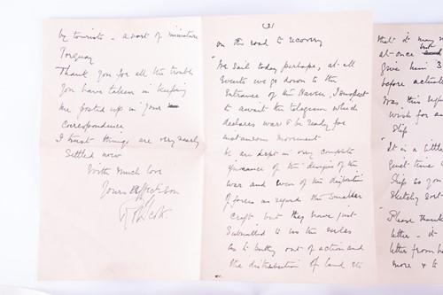 Lot 312 - Robert Falcon Scott CVO (1868-1913): A large...