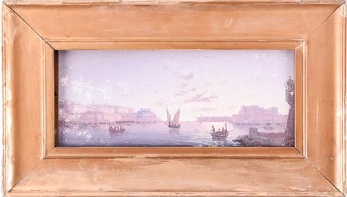Lot 15 - Luigi Maria Galea, (Maltese, 1847-1917) ' Port...