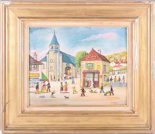 Lot 9 - Jean Fous (1901-1971) French, 'Premiere...