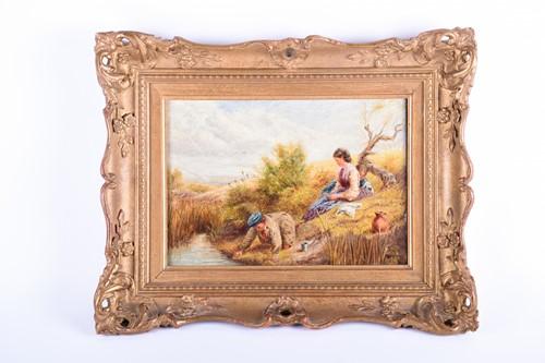 Lot 10 - W C T Dobson, (British, 19th century), 'Rural...