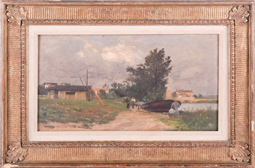 Lot 25-Attributed to Charles Joseph Beauverie...