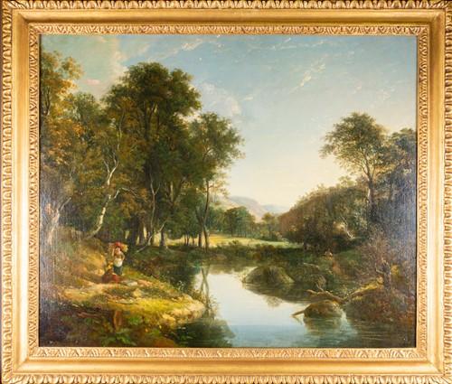 Lot 11 - William Traies (1789-1872) British, 'Upper...
