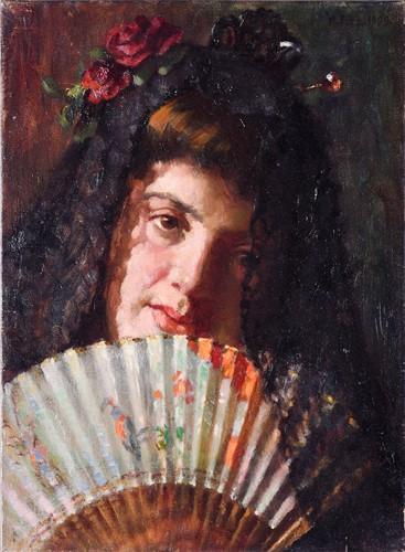Lot 34 - William Fitz (fl. 1880-1915), British, 'A Fair...