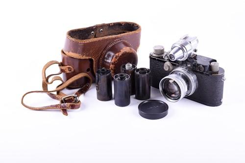 Lot 390-A 1934 Leica DBP Ernst Leitz GMBH Wetzlar...