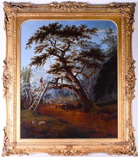 Lot 2 - William Pascoe (19th Century) English, Rustic...