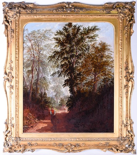 Lot 49-William Pascoe (19th Century) English, a...