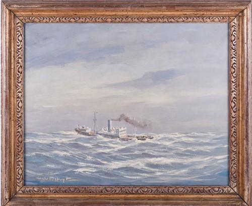 Lot 70 - George William Pilkington (1879-1958), a steam...