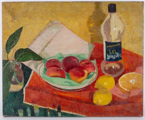 Lot 89-20th century french School, still life, loose...