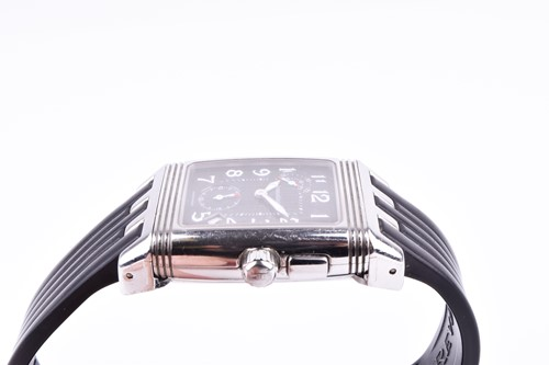 Lot 402 - A Jaegar Le Coultre Reverso Day and Night...