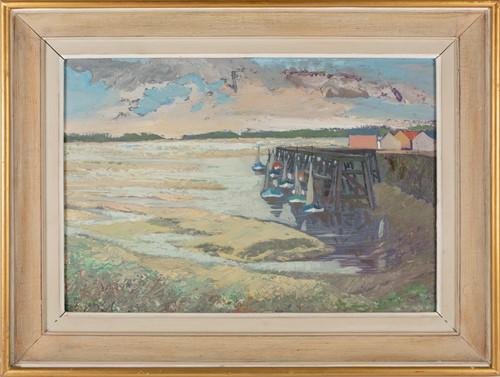 Lot 91 - Willi Rondas (1907-1975) Belgium, Le Port de...