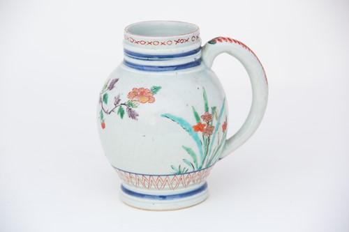 Lot 19-A rare Arita galley pot, circa 1660, each...