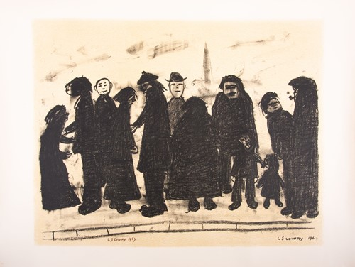 Lot 111 - Laurence Stephen Lowry (1887-1976) British,...