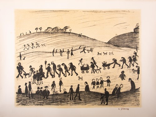 Lot 124 - Laurence Stephen Lowry (1887-1976) British, 'A...