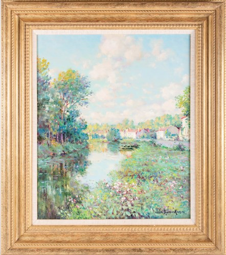Lot 54 - Jean Kevorkian (b.1933) French, 'Coulon', an...