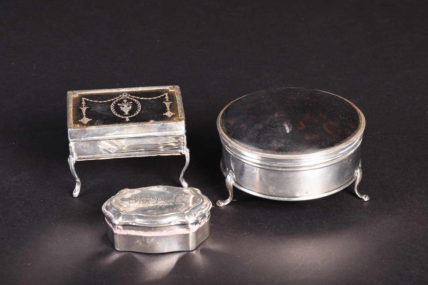 Lot 20-Two 19th century silver and...