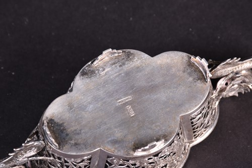 Lot 47-A Chinese silver export small bowl with clear...