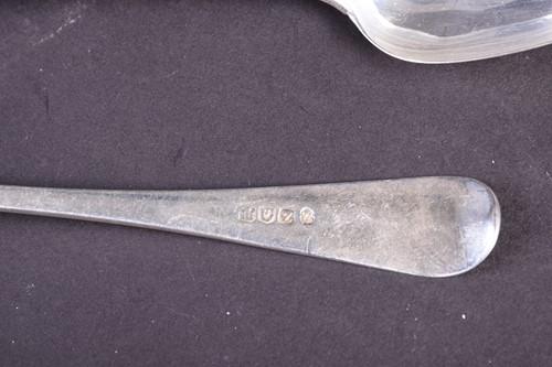 Lot 39-A set of six William IV Scottish silver...