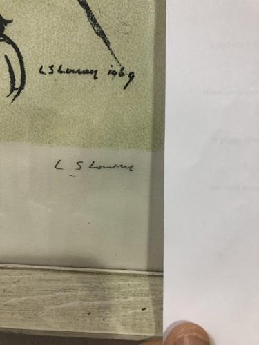 Lot 116 - Laurence Stephen Lowry (1887-1976) British,...