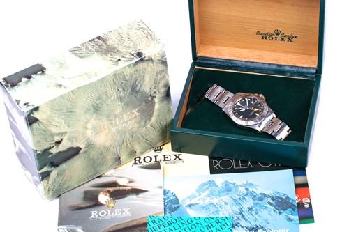 Lot 549 - A 1982 Rolex Oyster Perpetual Date Explorer II...
