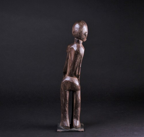 Lot 21 - A Lobi betise figure group, Burkina Faso, the...