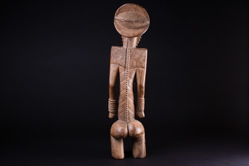 Lot 37 - A Bembe Basumba standing figure of a man,...