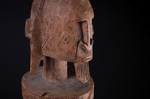 Lot 23 - A Dogon hermaphrodite standing figure, Mali,...