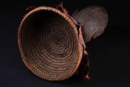 Lot 39 - An Eket carved wood headdress, Nigeria,...