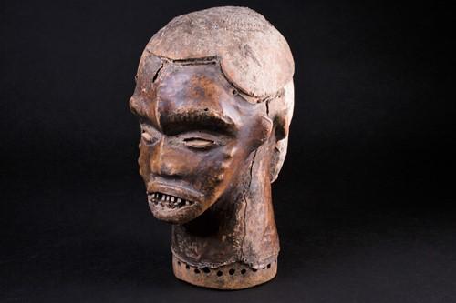 Lot 59 - An Idoma Janus mask headdress, Nigeria, one...