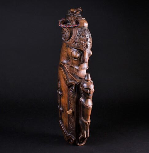 Lot 17 - A carved Toba Batak, Sumatra, Indonesia,...