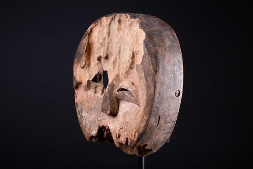 Lot 15 - A Baule Goli mask, Ivory Coast, 21cm