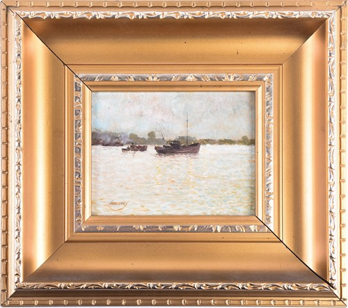 Lot 4 - Ken Moroney (1949 - 2018), fishing boat and a...