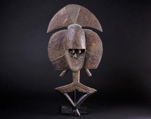 Lot 72 - A Kota reliquary figure, Gabon, Bwete, the...